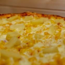 Karcsi kedvence pizza