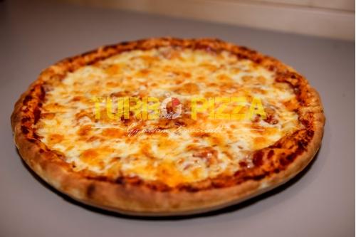 Kolbászos pizza