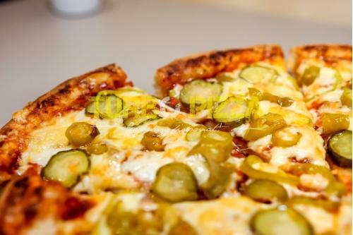 Hellish pizza